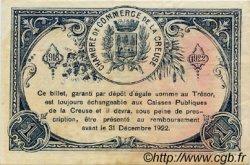 1 Franc FRANCE régionalisme et divers Guéret 1918 JP.064.17 TTB à SUP