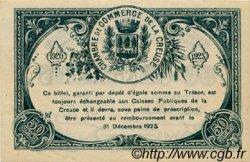 50 Centimes FRANCE régionalisme et divers Guéret 1920 JP.064.19 SPL à NEUF