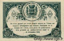 50 Centimes FRANCE régionalisme et divers GUÉRET 1920 JP.064.19 TTB à SUP