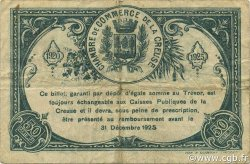50 Centimes FRANCE régionalisme et divers GUÉRET 1920 JP.064.19 TB