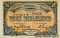 1 Franc FRANCE régionalisme et divers GUÉRET 1920 JP.064.20 SPL à NEUF