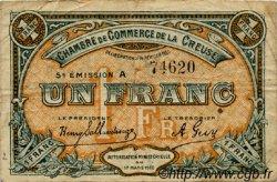 1 Franc FRANCE régionalisme et divers GUÉRET 1920 JP.064.20 TB