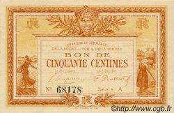 50 Centimes FRANCE régionalisme et divers La Roche-Sur-Yon 1915 JP.065.01 TTB à SUP