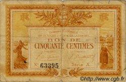 50 Centimes FRANCE régionalisme et divers LA ROCHE-SUR-YON 1915 JP.065.01 TB