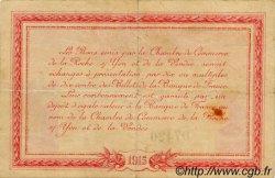 1 Franc FRANCE régionalisme et divers LA ROCHE-SUR-YON 1915 JP.065.05 TB