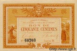 50 Centimes FRANCE régionalisme et divers La Roche-Sur-Yon 1915 JP.065.14 SPL à NEUF