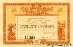 50 Centimes FRANCE régionalisme et divers La Roche-Sur-Yon 1915 JP.065.14 TTB à SUP