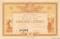50 Centimes FRANCE régionalisme et divers La Roche-Sur-Yon 1915 JP.065.16 SPL à NEUF