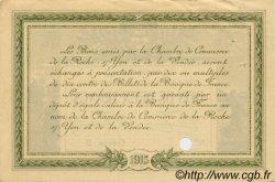 2 Francs FRANCE régionalisme et divers LA ROCHE-SUR-YON 1915 JP.065.22 TTB à SUP