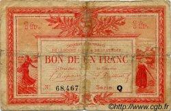 1 Franc FRANCE régionalisme et divers LA ROCHE-SUR-YON 1922 JP.065.33 TB