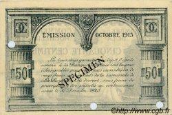 50 Centimes FRANCE régionalisme et divers La Rochelle 1915 JP.066.02 SPL à NEUF
