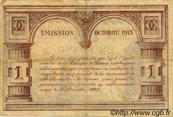 1 Franc FRANCE régionalisme et divers La Rochelle 1915 JP.066.03 TTB à SUP