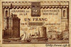 1 Franc FRANCE régionalisme et divers LA ROCHELLE 1915 JP.066.03 TB
