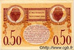 50 Centimes FRANCE régionalisme et divers La Rochelle 1920 JP.066.07 TTB à SUP