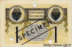 1 Franc FRANCE régionalisme et divers LA ROCHELLE 1920 JP.066.10 SPL à NEUF