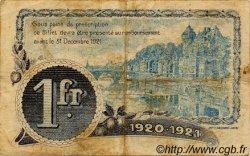 1 Franc FRANCE régionalisme et divers LAVAL 1920 JP.067.02 TB