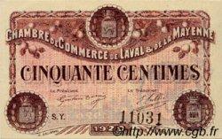 50 Centimes FRANCE régionalisme et divers LAVAL 1920 JP.067.03 SPL à NEUF