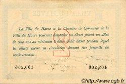 2 Francs FRANCE régionalisme et divers Le Havre 1914 JP.068.07 TTB à SUP