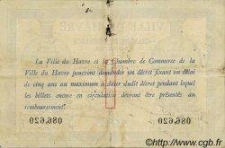 1 Franc FRANCE régionalisme et divers LE HAVRE 1915 JP.068.10 TTB à SUP