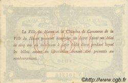 50 Centimes FRANCE régionalisme et divers LE HAVRE 1916 JP.068.14 SPL à NEUF