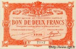 2 Francs FRANCE régionalisme et divers LE HAVRE 1916 JP.068.16