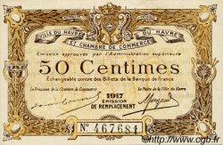 50 Centimes FRANCE régionalisme et divers Le Havre 1917 JP.068.17 SPL à NEUF