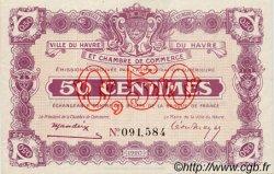 50 Centimes FRANCE régionalisme et divers Le Havre 1920 JP.068.20 SPL à NEUF