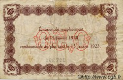 50 Centimes FRANCE régionalisme et divers LE HAVRE 1920 JP.068.20 TB