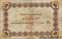 1 Franc FRANCE régionalisme et divers LE HAVRE 1920 JP.068.22 TB