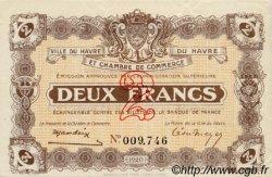 2 Francs FRANCE régionalisme et divers Le Havre 1920 JP.068.24 SPL à NEUF