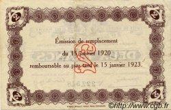 2 Francs FRANCE régionalisme et divers LE HAVRE 1920 JP.068.24 TTB à SUP