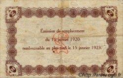 2 Francs FRANCE régionalisme et divers Le Havre 1920 JP.068.24 TB