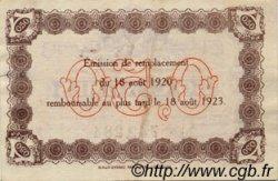 50 Centimes FRANCE régionalisme et divers LE HAVRE 1920 JP.068.26 TTB à SUP