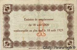 1 Franc FRANCE régionalisme et divers LE HAVRE 1920 JP.068.28 TTB à SUP