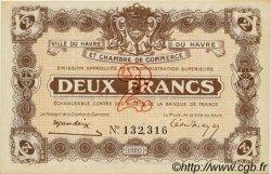 2 Francs FRANCE régionalisme et divers Le Havre 1920 JP.068.30 SPL à NEUF