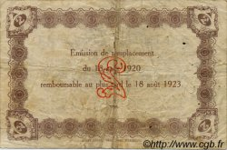 2 Francs FRANCE régionalisme et divers LE HAVRE 1920 JP.068.30 TB