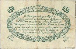 50 Centimes FRANCE régionalisme et divers Le Mans 1915 JP.069.01 TB
