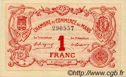 1 Franc FRANCE régionalisme et divers LE MANS 1915 JP.069.05 SPL à NEUF