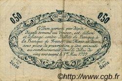 50 Centimes FRANCE régionalisme et divers Le Mans 1917 JP.069.09 TB