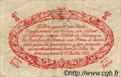 1 Franc FRANCE régionalisme et divers Le Mans 1920 JP.069.18 TB