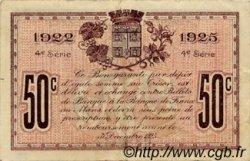 50 Centimes FRANCE régionalisme et divers LE MANS 1922 JP.069.23 TTB à SUP