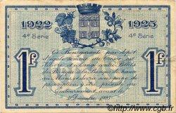 1 Franc FRANCE régionalisme et divers Le Mans 1922 JP.069.25 TTB à SUP