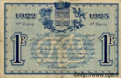 1 Franc FRANCE régionalisme et divers LE MANS 1922 JP.069.25 TB