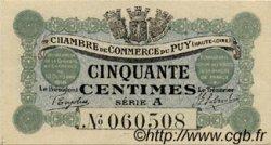 50 Centimes FRANCE régionalisme et divers LE PUY 1916 JP.070.01 TTB à SUP