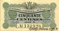 50 Centimes FRANCE régionalisme et divers LE PUY 1916 JP.070.01 TB