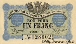 1 Franc FRANCE régionalisme et divers Le Puy 1916 JP.070.03 SPL à NEUF