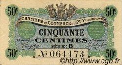 50 Centimes FRANCE régionalisme et divers LE PUY 1916 JP.070.05 TTB à SUP