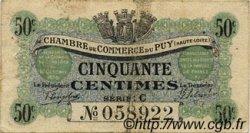 50 Centimes FRANCE régionalisme et divers LE PUY 1916 JP.070.05 TB