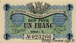 1 Franc FRANCE régionalisme et divers Le Puy 1916 JP.070.06 SPL à NEUF
