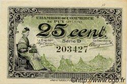 25 Centimes FRANCE régionalisme et divers Le Puy 1916 JP.070.07 SPL à NEUF